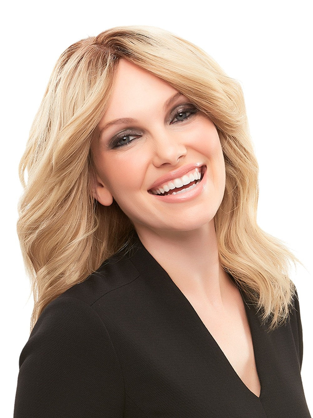 Remy human hair wig with hand-tied cap (french knotting)