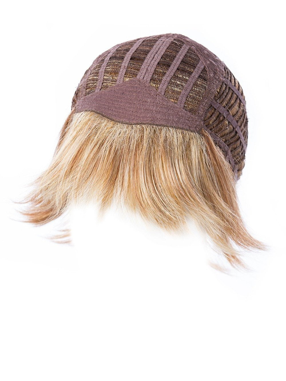 Basic Cap, also known as a capless or traditional construction, has open wefting