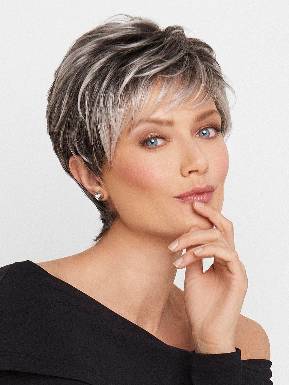 Crushing on Casual by Raquel Welch Lace Front  Wigscom - African American Short Hairstyles