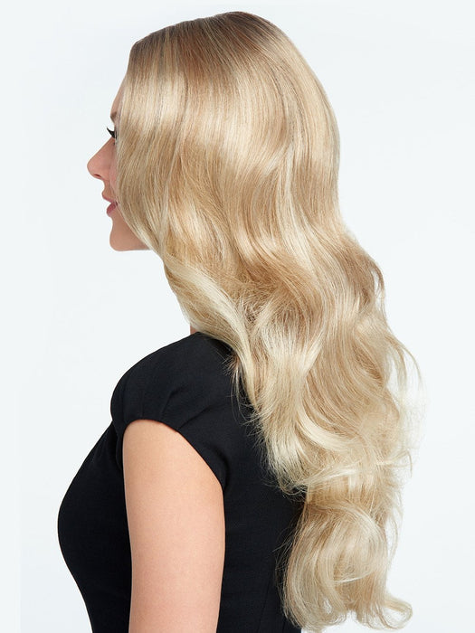 This trending look combines the natural looking hairline of a Sheer Indulgence™ lace front monofilament top for optional off-the-face styling with the cool, light comfort of a 100% hand-knotted base.