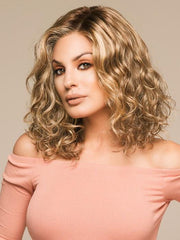 This hair style gives you long layered waves and free-formed curls.