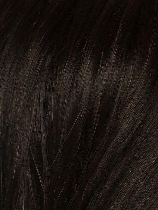 ESPRESSO ROOTED | Darkest Brown base with a blend of Dark Brown and Warm Medium Brown throughout with Dark Roots