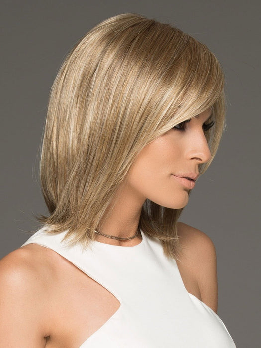 The premium synthetic fiber used to create the Ellen Wille Icone mimics the look, feel and movement of biological hair.