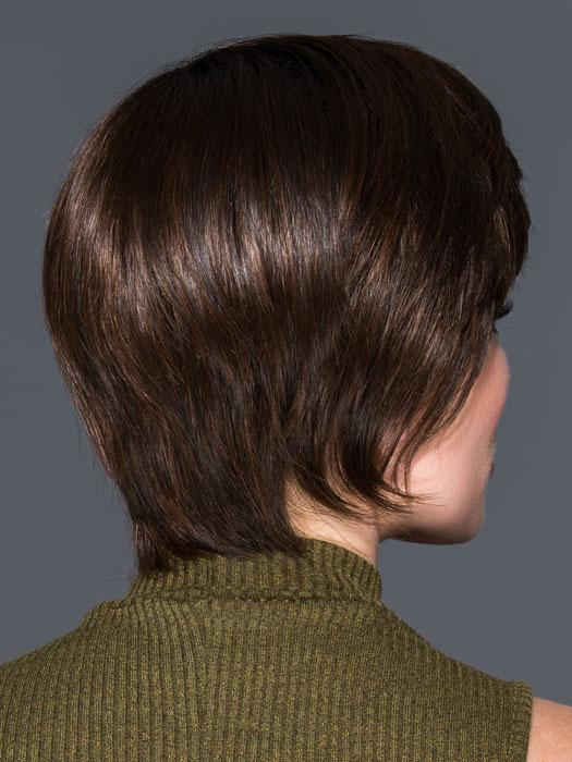 BEAM by ELLEN WILLE in CHOCOLATE ROOTED | Medium to Dark Brown base with Light Reddish Brown highlights
