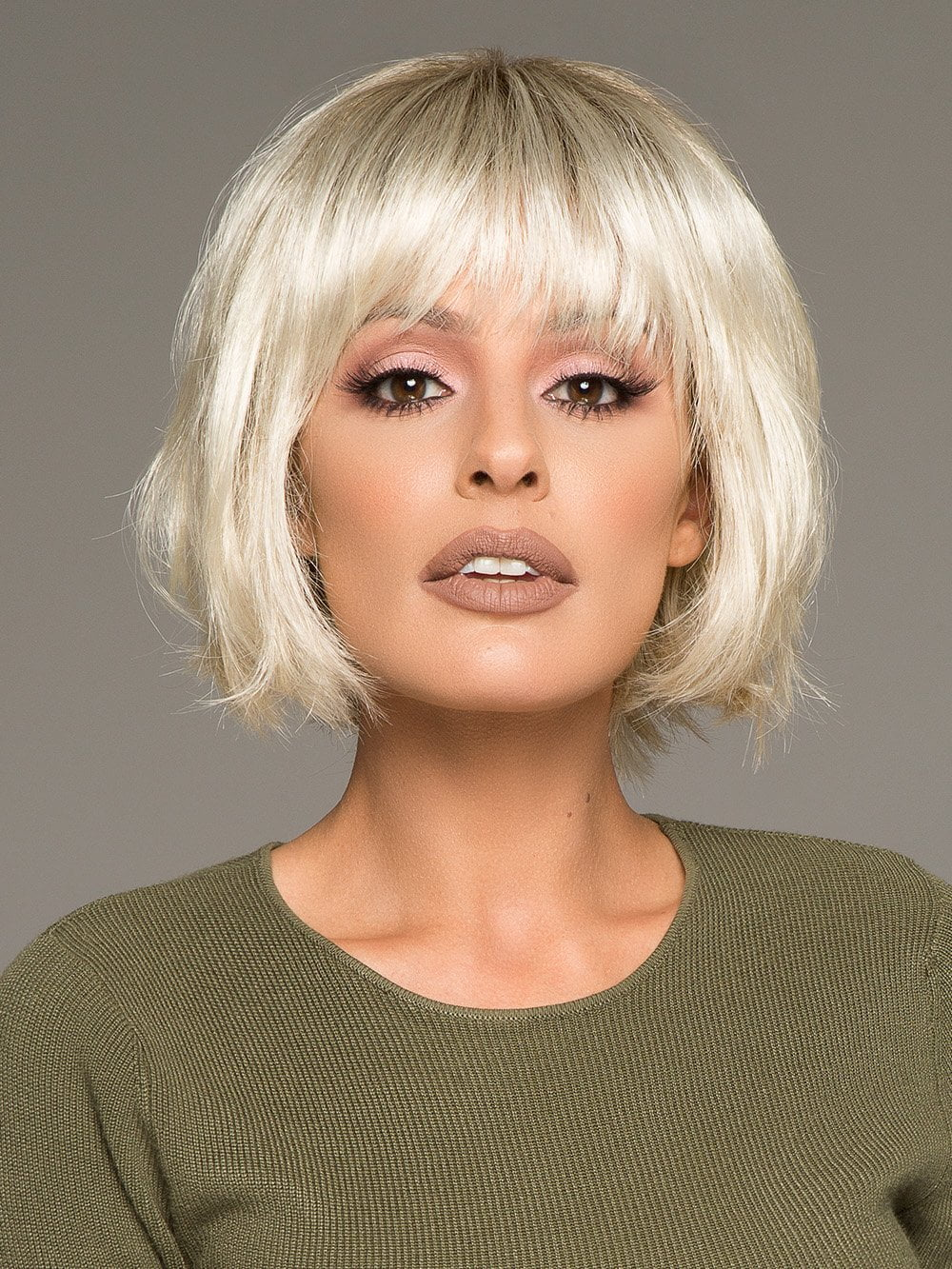 Blues Short Wig With Mono Part By Ellen Wille Wigs Com