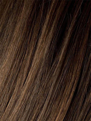 CHOCOLATE-ROOTED | Medium to Dark Brown base with Light Reddish Brown highlights and Dark Roots