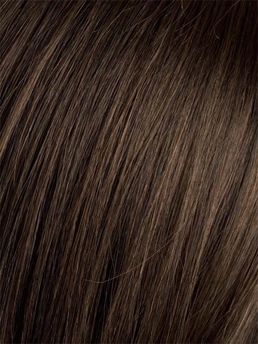 Color DARK-CHOCOLATE-MIX = Warm Medium Brown, Dark Auburn, and Dark Brown blend