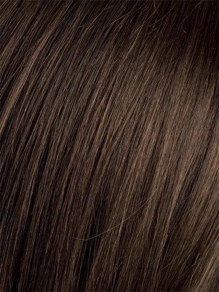 DARK-CHOCOLATE-MIX | Warm Medium Brown, Dark Auburn, and Dark Brown blend