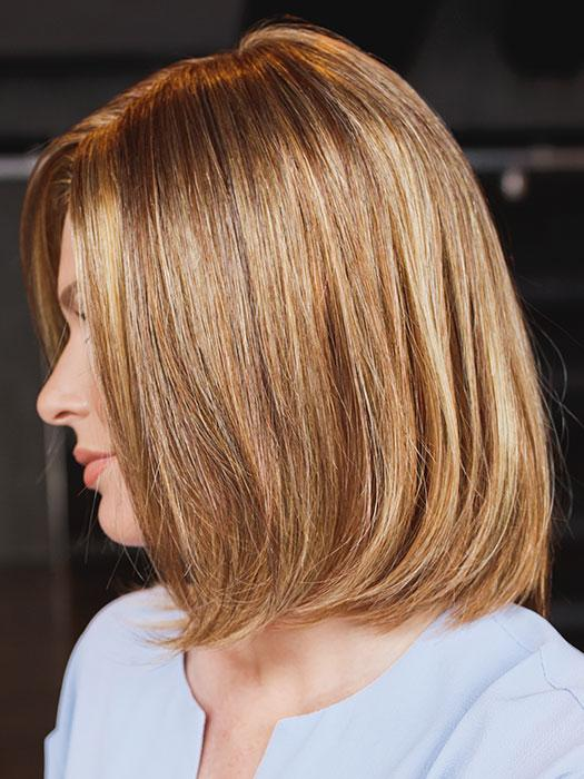 FLIRT by ELLEN WILLE in GINGER MIX | Light Honey Blonde, Light Auburn, and Medium Honey Blonde Blend