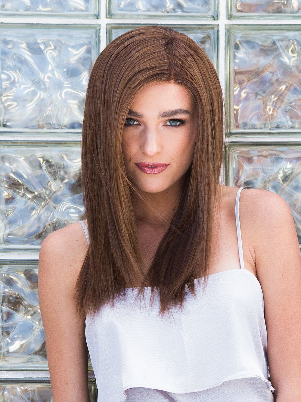 ILLUSION by Ellen Wille in CHOCOLATE MIX | Medium to Dark Brown Base with Light Reddish Brown Highlights