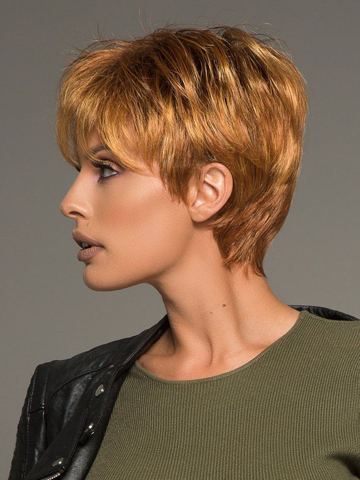 Beautiful lace front wig that is on trend with a sassy short style!