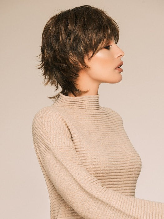 A beautifully textured short style with layers in all the right places!
