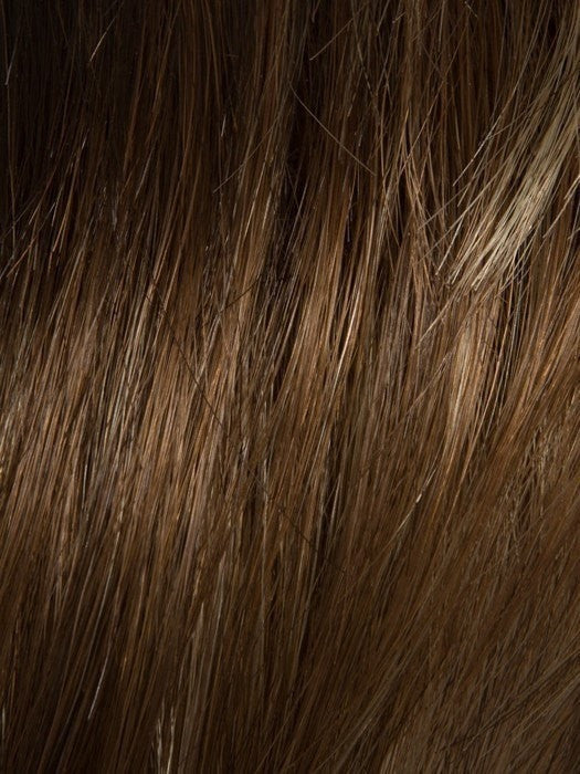 MOCCA-LIGHTED | Light Brown base with Light Caramel highlights on the top only, darker nape