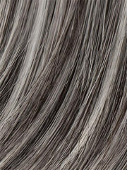 Color SALT-PEPPER-MIX = Light Natural Brown with 75% Gray, Medium Brown with 70% Gray and Pure White Blend