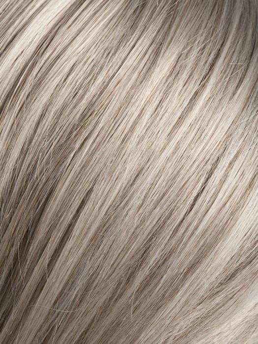 Color SNOW-MIX = Pure Silver White with 10% Medium Brown & Silver White with 5% Light Brown blend