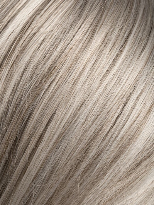 SNOW-MIX | Pure Silver White with 10% Medium Brown & Silver White with 5% Light Brown blend