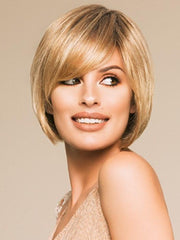 VISTA by Ellen Wille in GINGER-ROOTED | Light Honey Blonde, Light Auburn, and Medium Honey Blonde blend with Dark Roots