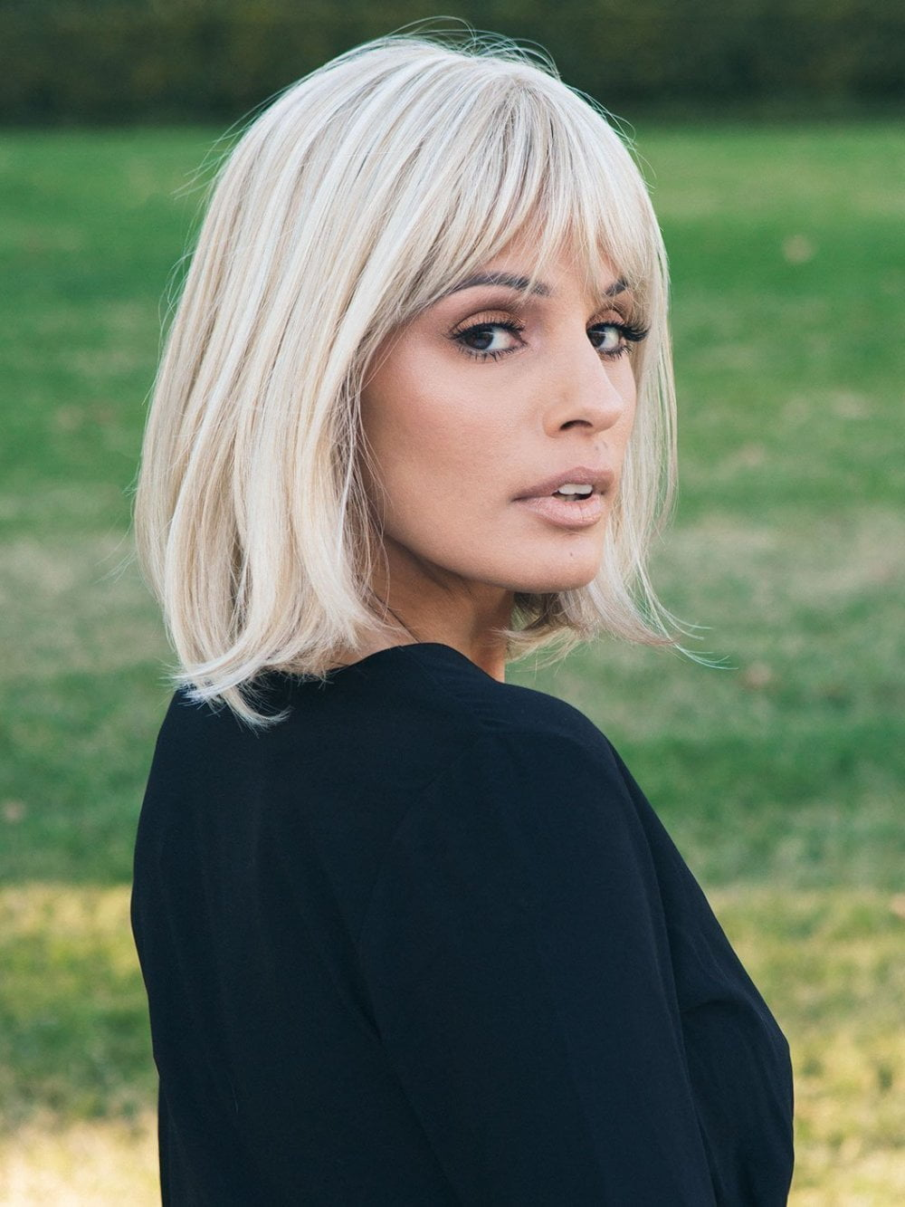 Paige Petite Wig by Envy | A Classic Bob – Wigs.com – The Wig Experts™