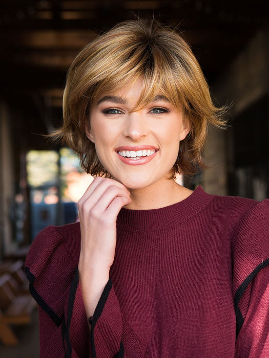 Short and shaggy, the Tamara Wig by Envy has that easy breezy look so many women strive for!