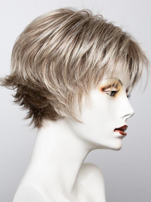 FROSTI-BLONDE | Platinum Blonde and Light Ash Brown evenly blended