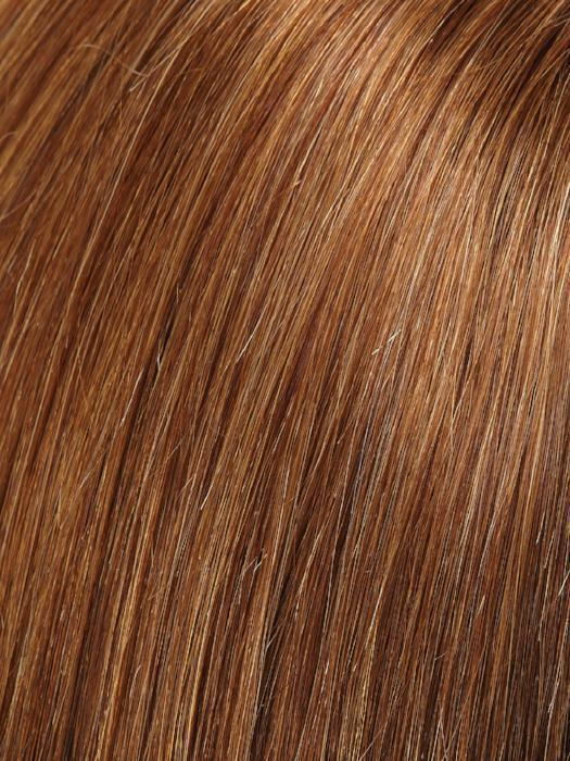 FS12/26RN | Light Gold Brown and Medium Red-Gold Blonde Blend with Medium Red-Gold Blonde Highlights