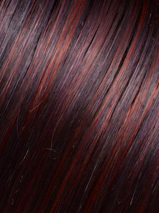 FS2V/31V CHOCOLATE CHERRY | Black-Brown Violet, Medium Red-Violet Blend with Red-Violet Bold Highlights