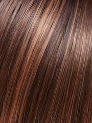FS6/30/27 | Toffee Truffle | Brown, Medium Red-Gold, Medium Red-Gold Blonde Blend with Medium Gold Blonde Bold Highlights