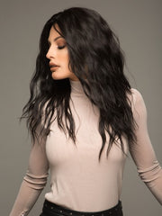 This wig can be worn slightly behind your hairline for a more natural look and seamless blend