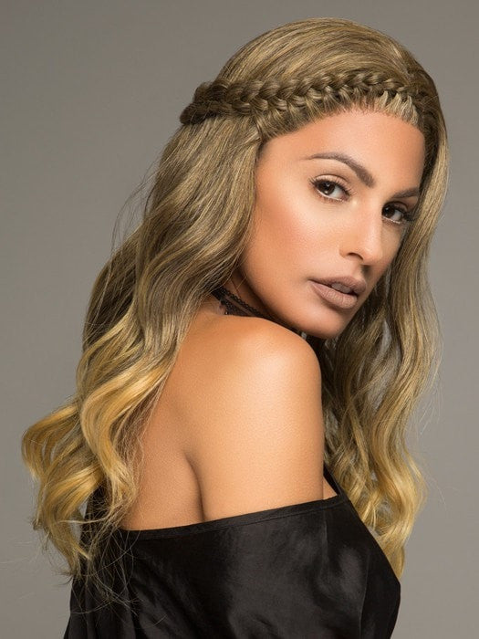 Lolita Long Side Braid By Forever Young Lace Front Wigs