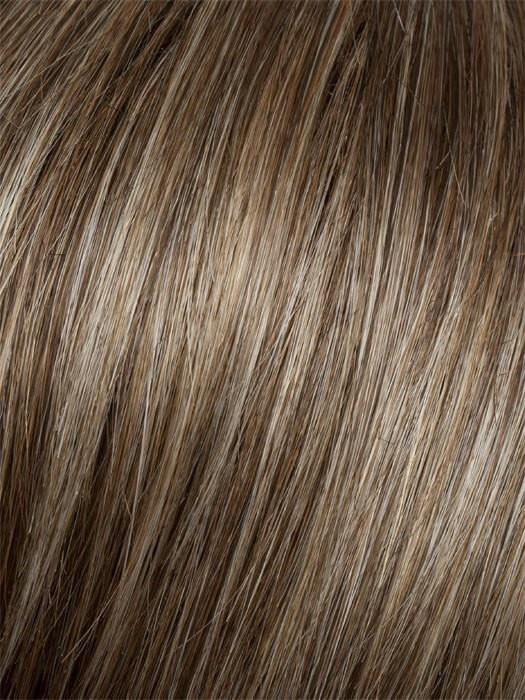 G10+ Nutmeg Mist | Light Neutral Brown Base with a Dark Blonde Highlight on the Top and Medium Brown Nape