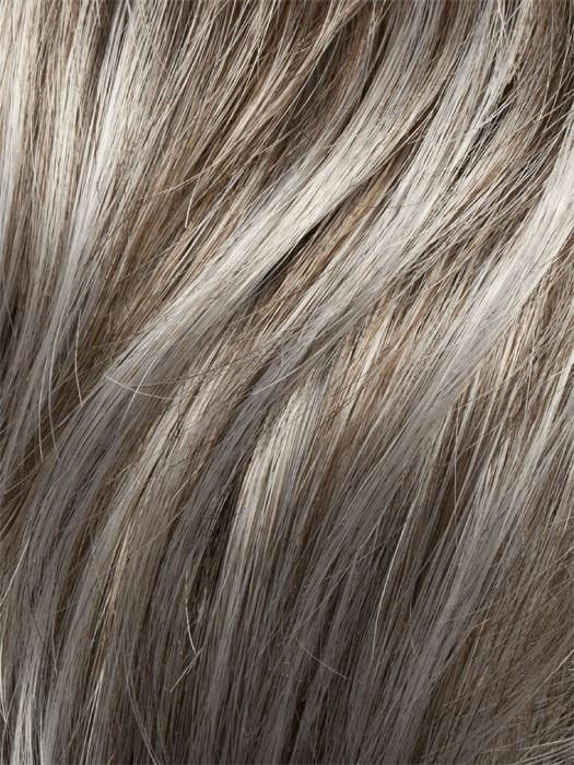 G48+ SUGARED PECAN | Light brown w/ 80% grey highlights