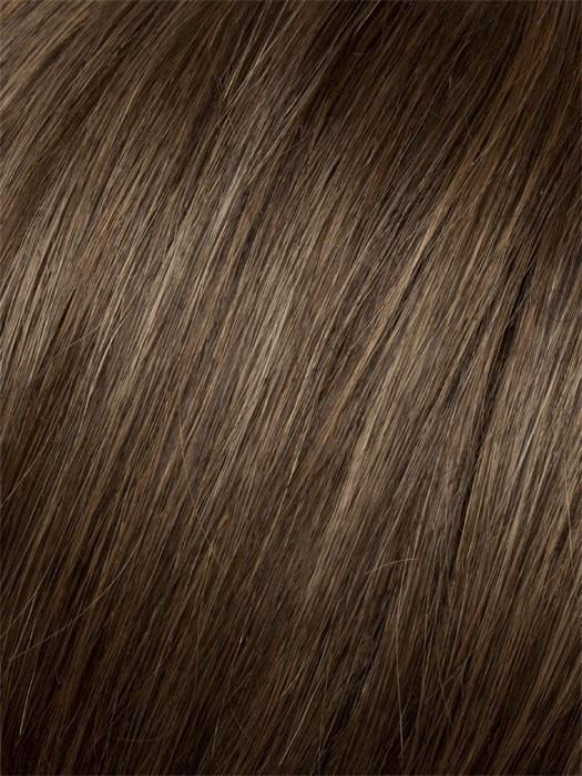 G8+ CHESTNUT MIST | Warm medium brown base with caramel highlights
