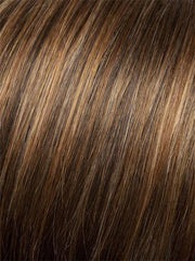 G829+ DARK CINNAMON MIST | Medium Brown with Ginger Red Highlights