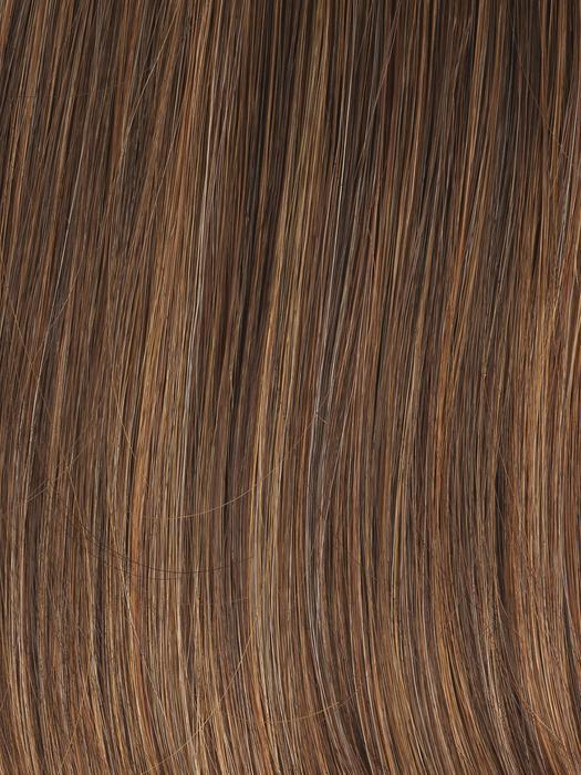 GL 8-29 HAZELNUT | Coffee Brown with Soft Ginger HighlightsGL 8-29 HAZELNUT | Coffee Brown with Soft Ginger Highlights