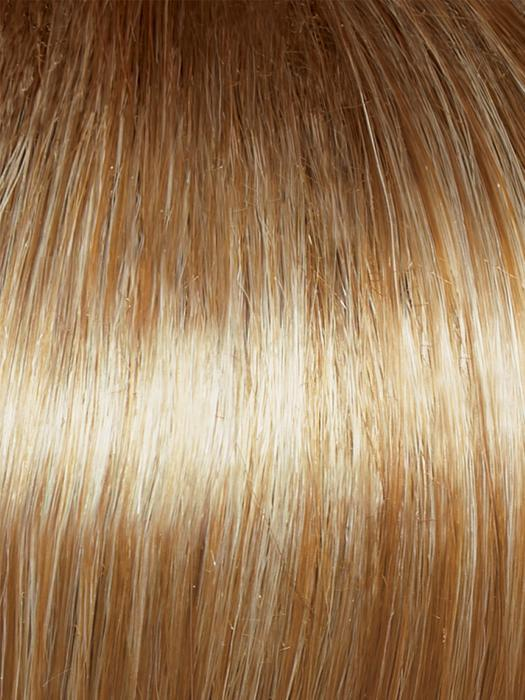 GL16-27SS BUTTERED BISCUIT | Caramel Brown base blends into multi-dimensional tones of Light Brown and Wheaty Blonde