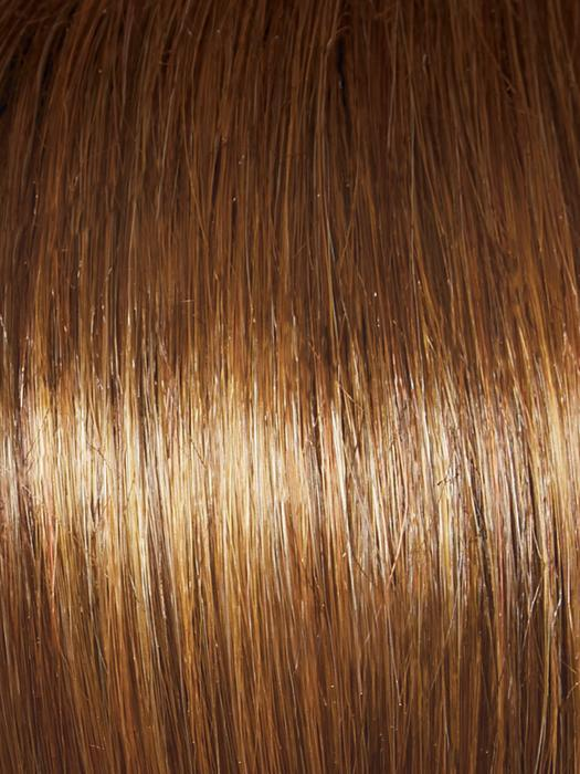 GGL8-29SS HAZELNUT | Coffee Brown with Soft Ginger Highlights
