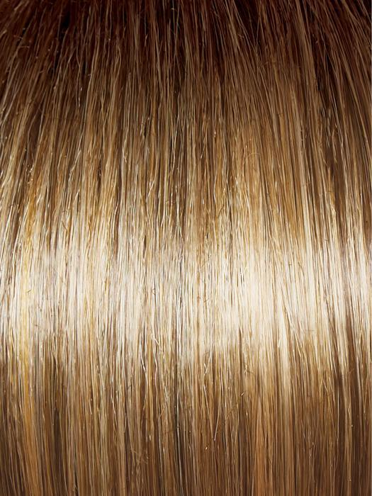 GL14-16SS HONEY TOAST | Chestnut Brown base blends into multi-dimensional tones of Medium Brown and Dark Golden Blonde