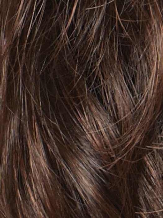 GINGER-BROWN | Medium Auburn and Medium Brown evenly blend