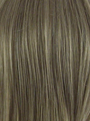 GINGER-CREAM | Dark Beige Blonde underneath highlighted on top with Light Beige Blonde