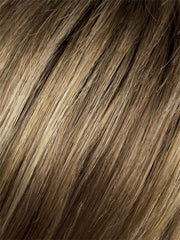 GINGER ROOTED | Light Honey Blonde, Light Auburn, and Medium Honey Blonde blend with Dark Roots