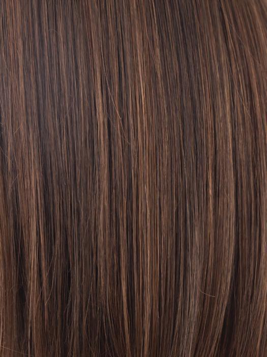 GINGER-BROWN | Medium auburn and medium brown blend