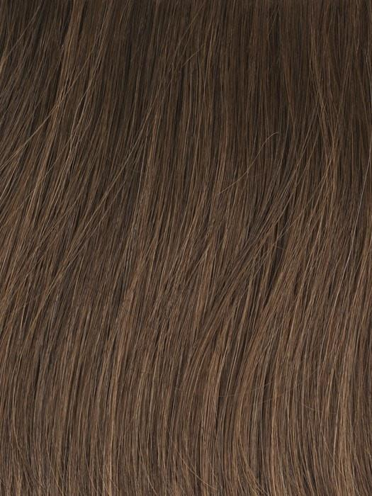 GL10-12 SUNLIT CHESTNUT | Rich Brown with Caramel Highlights