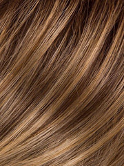 GL11-25SS SS HONEY PECAN | Chestnut brown base blends into multi-dimensional tones of brown and golden blonde