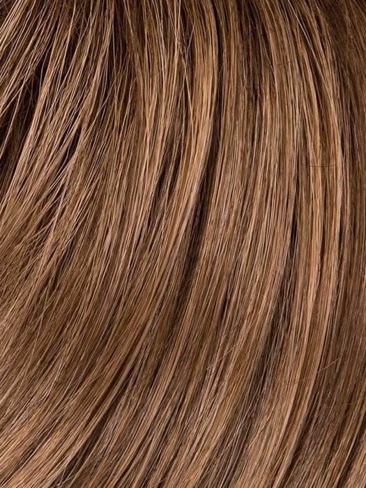 GL14-16SS SS HONEY TOAST | Chestnut brown base blends into multi-dimensional tones of medium brown and dark golden blonde.
