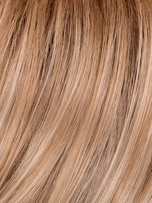 GL14-22SS SANDY BLONDE | Dark Golden Blonde base blends into multi-dimensional tones of Medium Gold Blonde and Light Beige Blonde