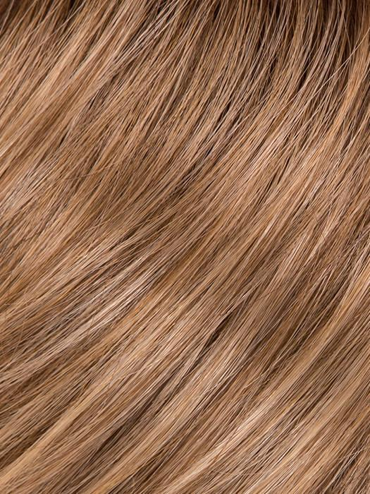 GL15-26SS BUTTERED TOAST | Chestnut Brown base blends into multi-dimensional tones of Medium Brown and Golden Blonde