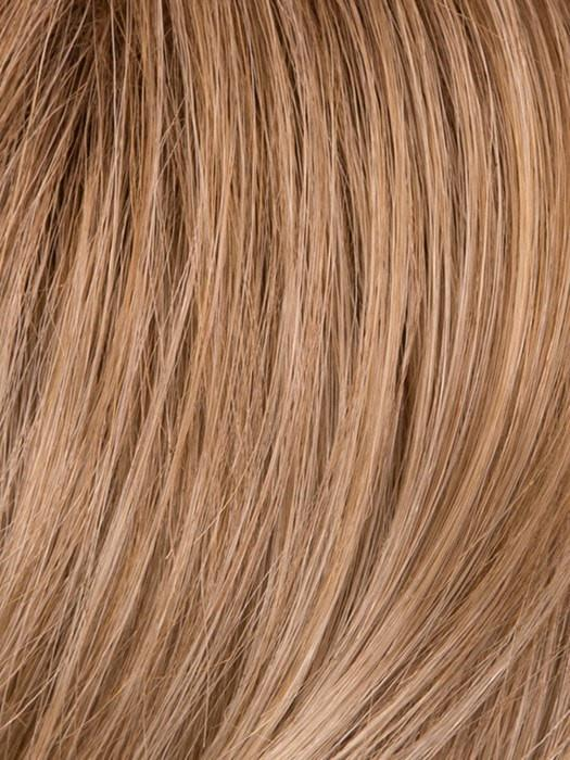 GL16/27SS SS BUTTERED BISCUIT | Caramel Brown blends into multi-dimensional tones of Light Brown and Wheat Blonde