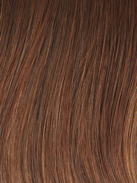 GL 29 -31 RUSTY AUBURN | Medium Auburn with Subtle Ginger Highlights