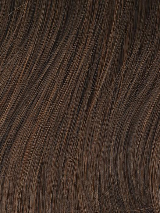 GL6-30 MAHOGANY | Dark Brown with Soft Copper highlights