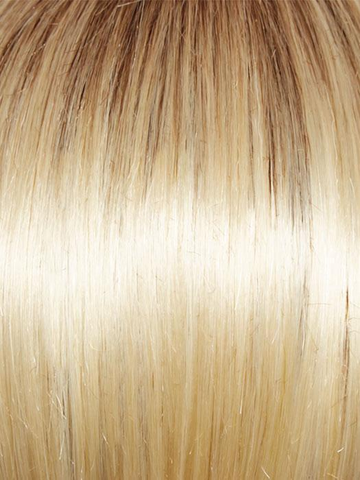 GL613-88SS CHAMPAGNE BLONDE | Dark golden blonde base blends into light golden blonde with glints of platinum blonde.